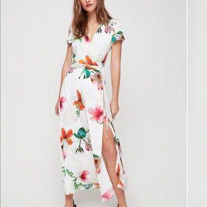 Lyndon Wrap Dress - Babaton by Aritzia